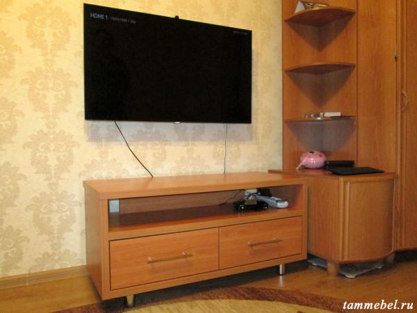 ТВ-тумба с ящиками