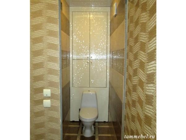 Шкафчик в туалет с фасадами МДФ