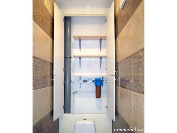 Шкафчик в туалет - внутреннее наполнение.