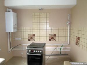 Кухня перед установкой мебели